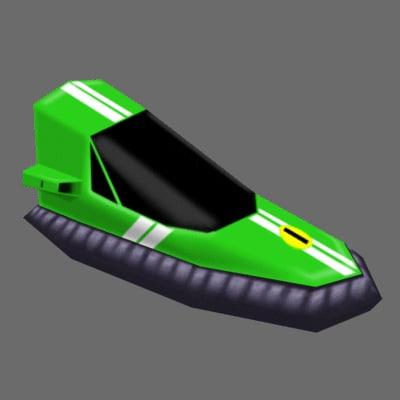 racing games 3d model