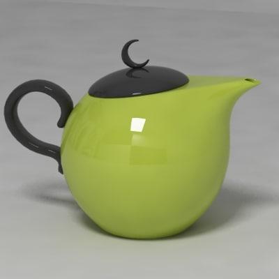 teapot 3d max