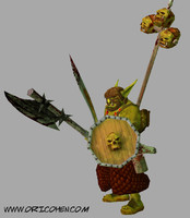 3ds max warrior orc