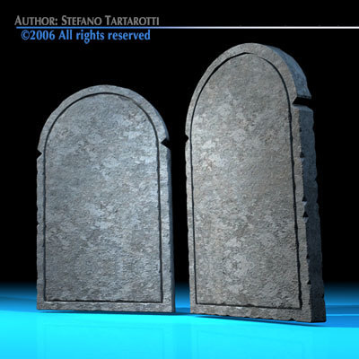 stone tablets c4d