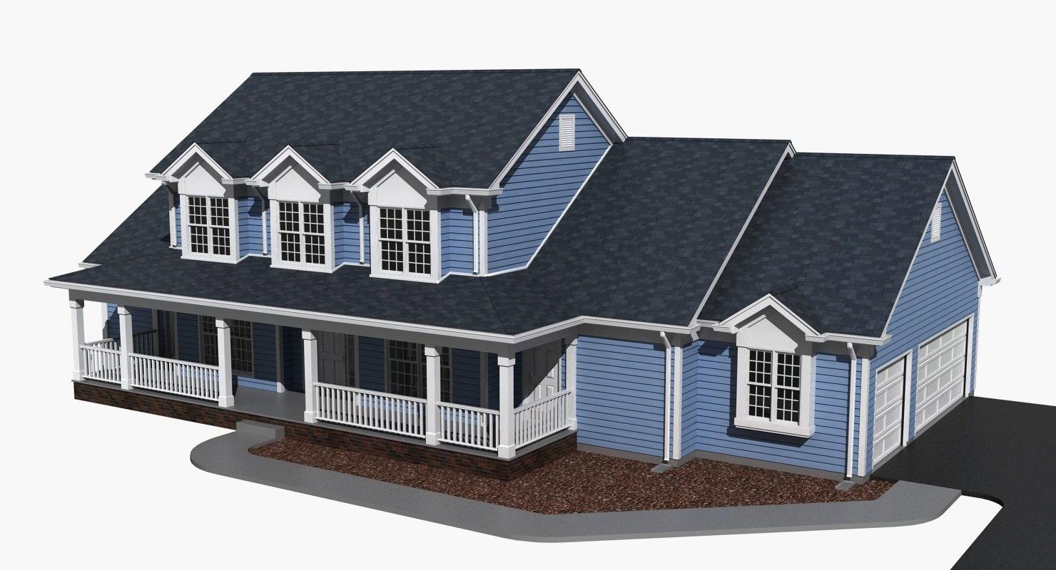3d model story exterior