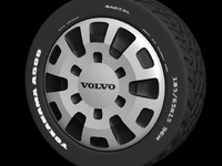 3dsmax wheel tire