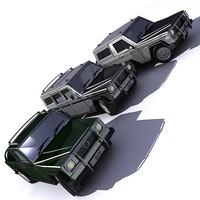 sports vehicles 3d model