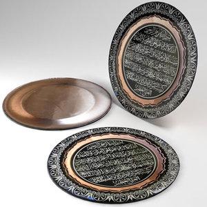 3ds max decorative plates