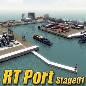 multi port harbour rt 3d 3ds