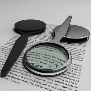 3d max magnifying glass