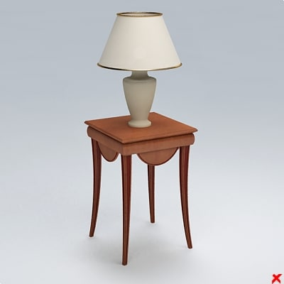 table lamp 3d max