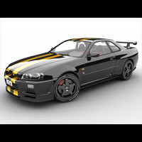 Nissan Skyline GTR R34 Vspec