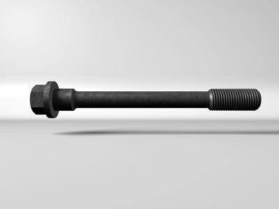 cylinder head bolt 3d model