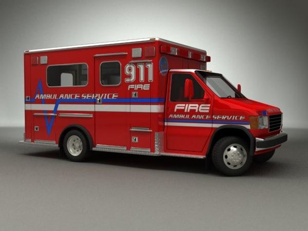 maya ambulance emergency truck