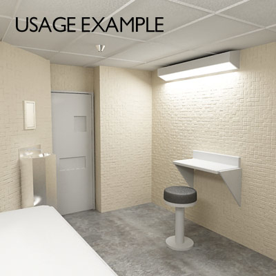 3d model prison cell