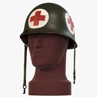 army m1 helmet ww2 3d model