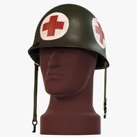 M1 Helmet WW2 - Medic