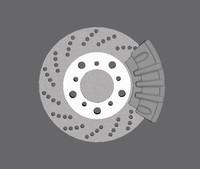 maya brake disk pad