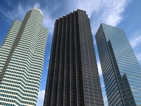 3d max 3 newyork skyscrapers tower