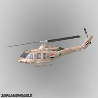 3d model 214st helicopter iraq air force