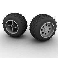 3ds max wheel toy