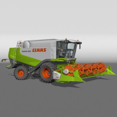 claas 530 combine lwo