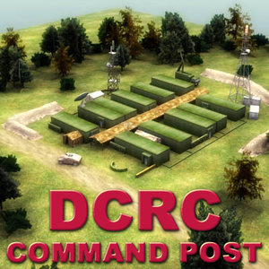 dcrc command post military 3ds