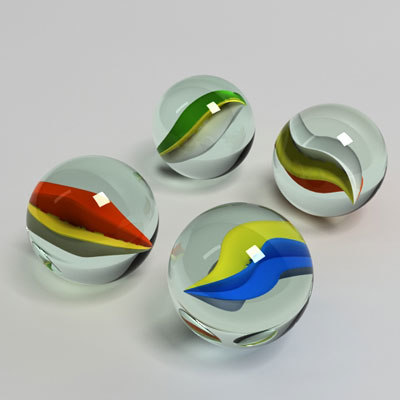 3dsmax toy marble