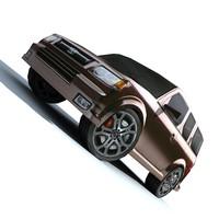 car suv honda 3d model