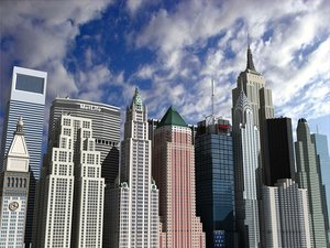 3d model newyork skyscrapers vol 2