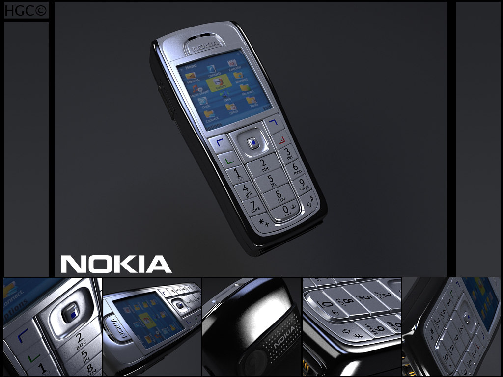 nokia 6230i 6230 3d model