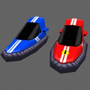 3d racing model