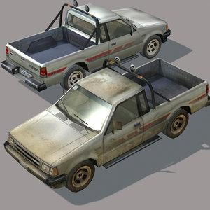 arab city element pickup 3d max