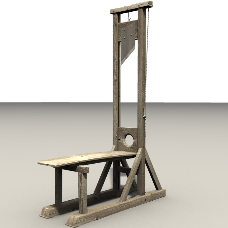 guillotine 3ds