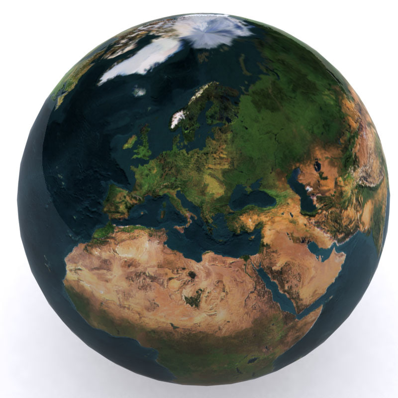 earth photorealistic max