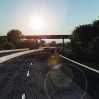 3d model set highways