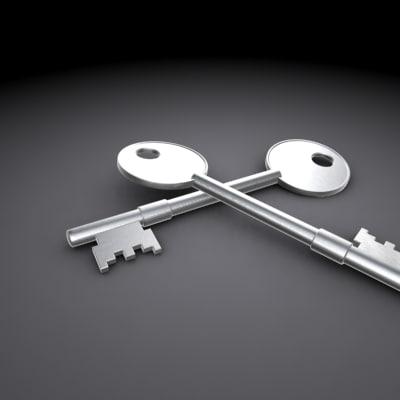 key deadlock 3d model