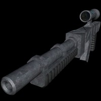 me2270 rifle scope 3d model