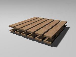 maya wooden palette
