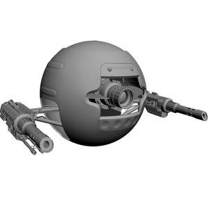 3d spherical robot