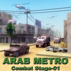 3ds max arab city street combat