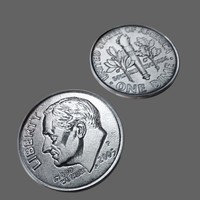 3ds max dime usa american