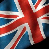3d model union jack flag