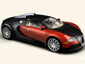 3dsmax bugatti veyron interior car