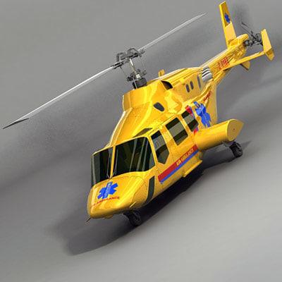 3d helicopter medical
