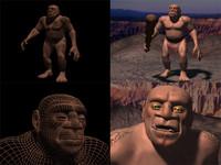 3ds max troll caveman brute
