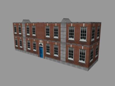 brick building 3ds