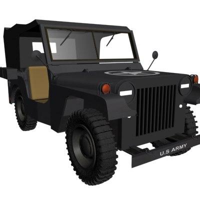 jeep 3d max