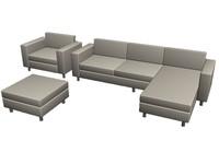 3 seat sofa.max
