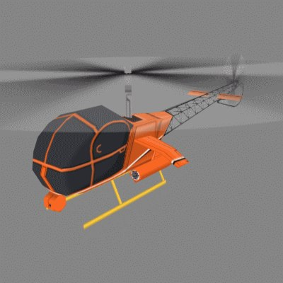3ds max toy helicopter