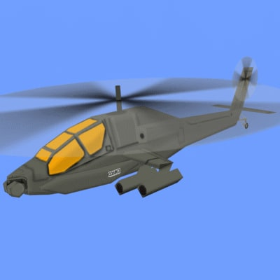 toy helicopter obj
