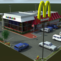 lightwave mcdonalds restaurant