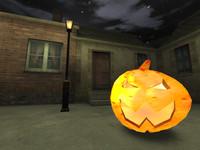 Jack o Lantern (Halloween Pumpkin) FPSC- and game-ready