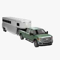 Horse Trailer and Pickup